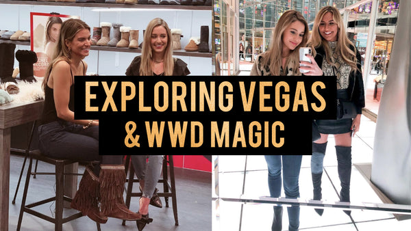 EXPLORING VEGAS & WWD MAGIC