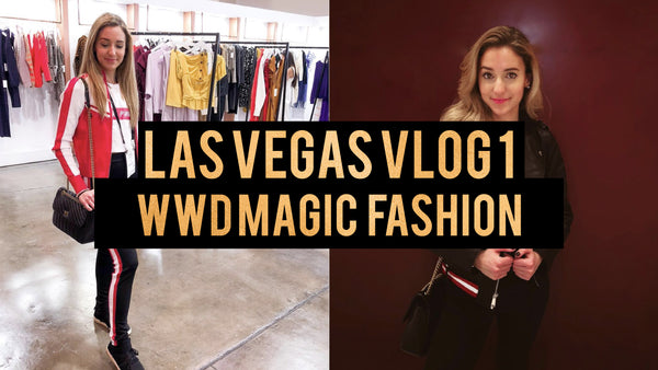VEGAS VLOG DAY 1 | WWD MAGIC, SEEING BRAD GORESKI & MORE!