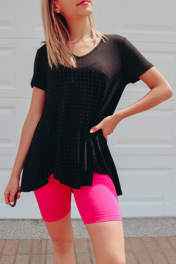 SWAY THIS WAY EMBELLISHED TUNIC ♦