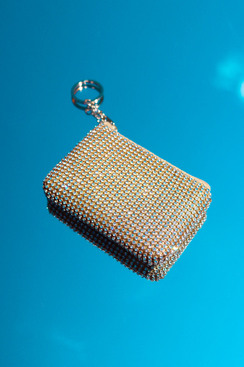 GOLD BLING COIN PURSE 👛