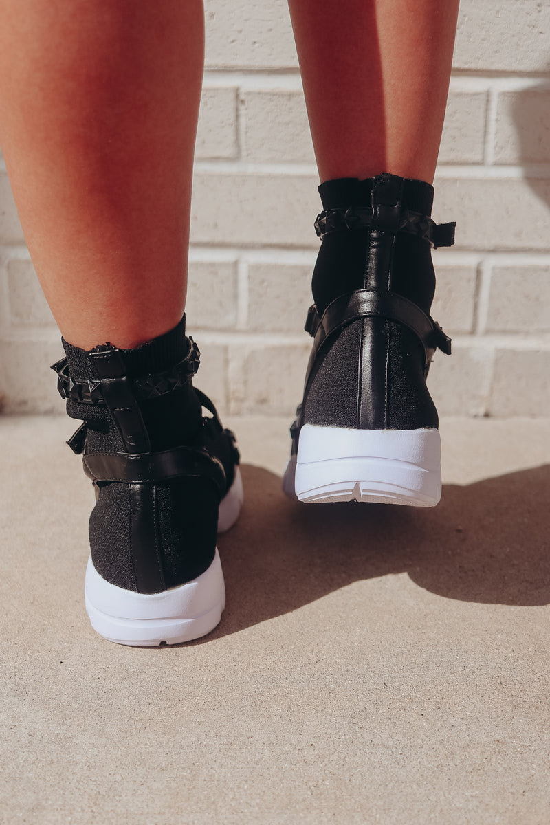 YOU'RE A STUD HIGH TOP SNEAKERS 🌟
