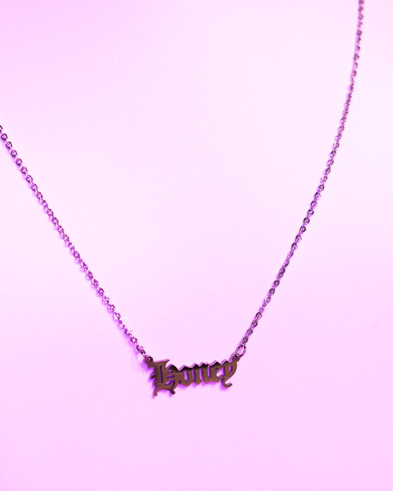 HONEY NECKLACE - SILVER