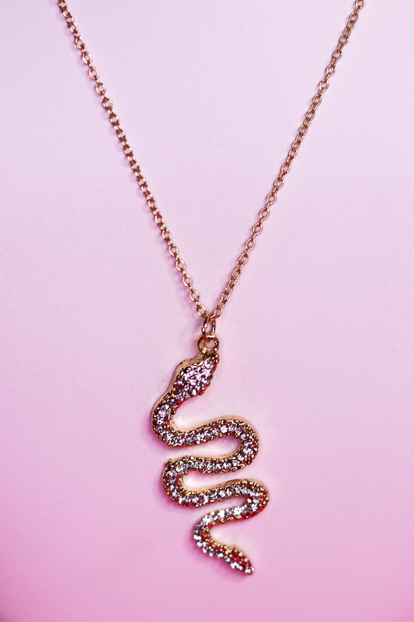 ICY SNAKE NECKLACE
