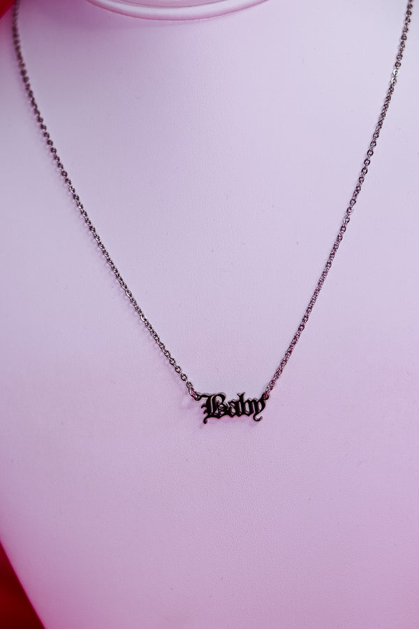 BABY NECKLACE - SILVER