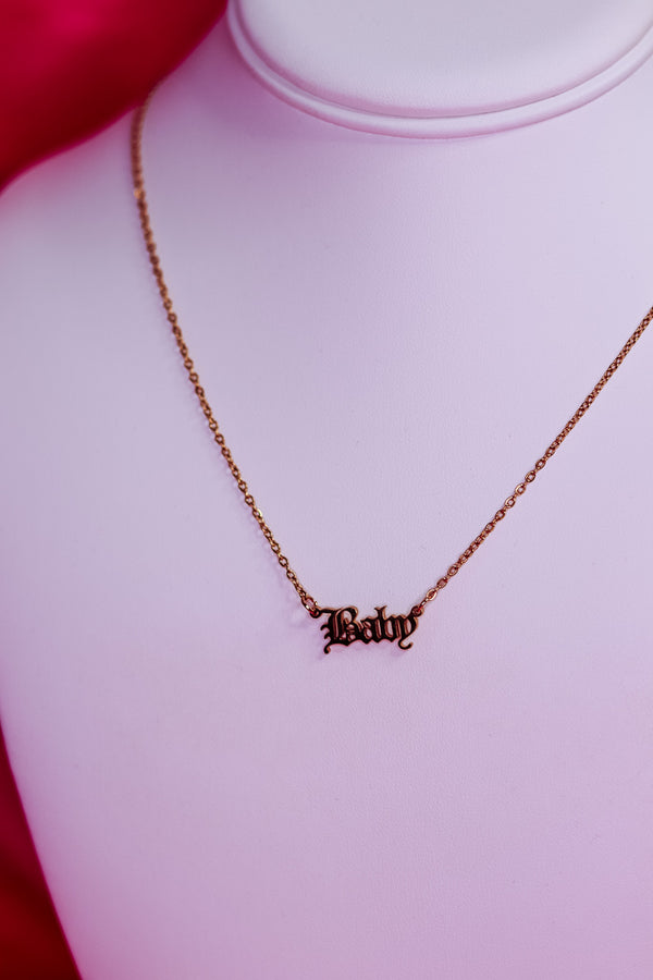 BABY NECKLACE - GOLD