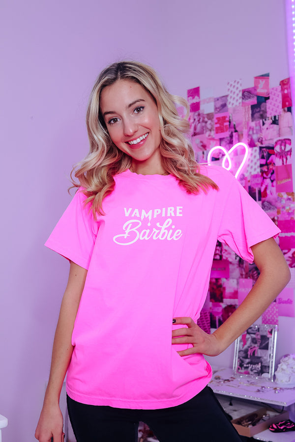 VAMPIRE BARBIE OVERSIZED TEE