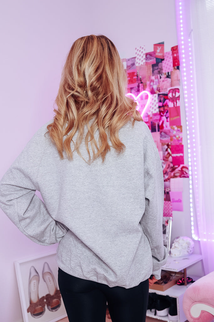 always & forever Oversized Fleece Sweatshirt