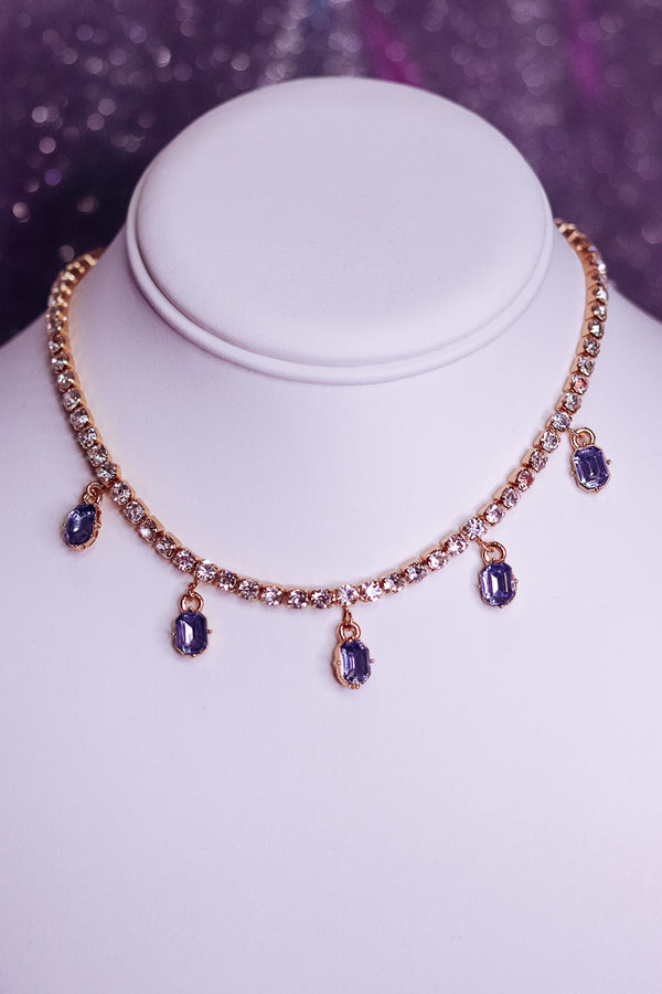 ROYALTY VIBES BLING CHOKER