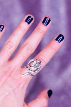 SERPENT RING - ADJUSTABLE