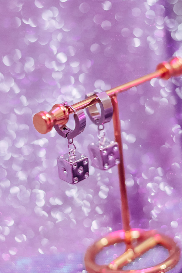 ICY DICE EARRINGS
