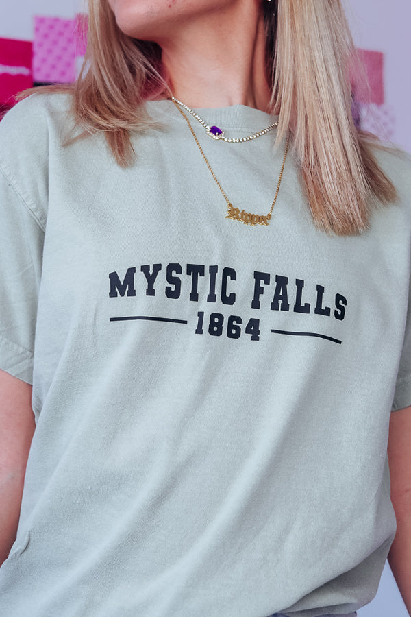 MYSTIC FALLS OVERSIZED TEE - Idol Style - affordable boutique