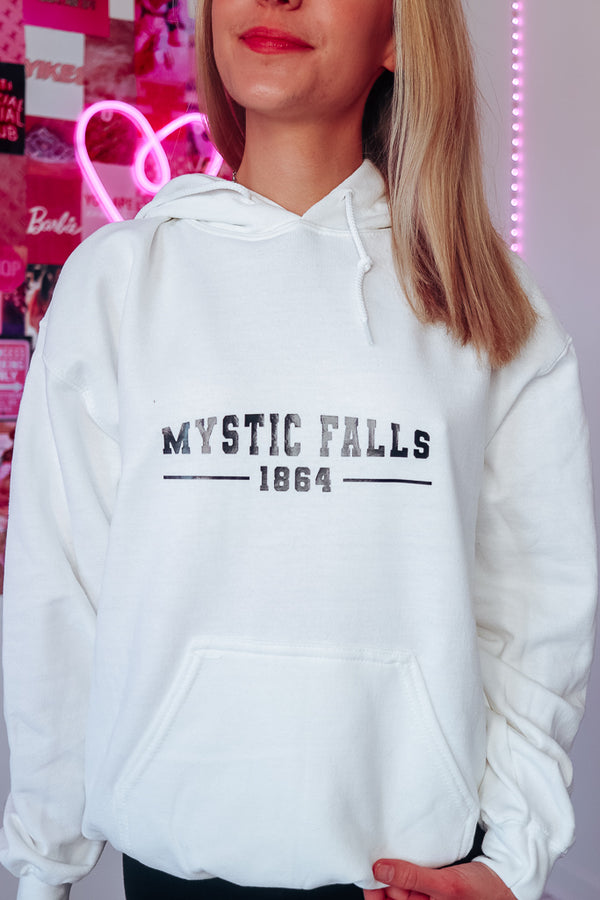 MYSTIC FALLS OVERSIZED HOODIE - Idol Style - affordable boutique