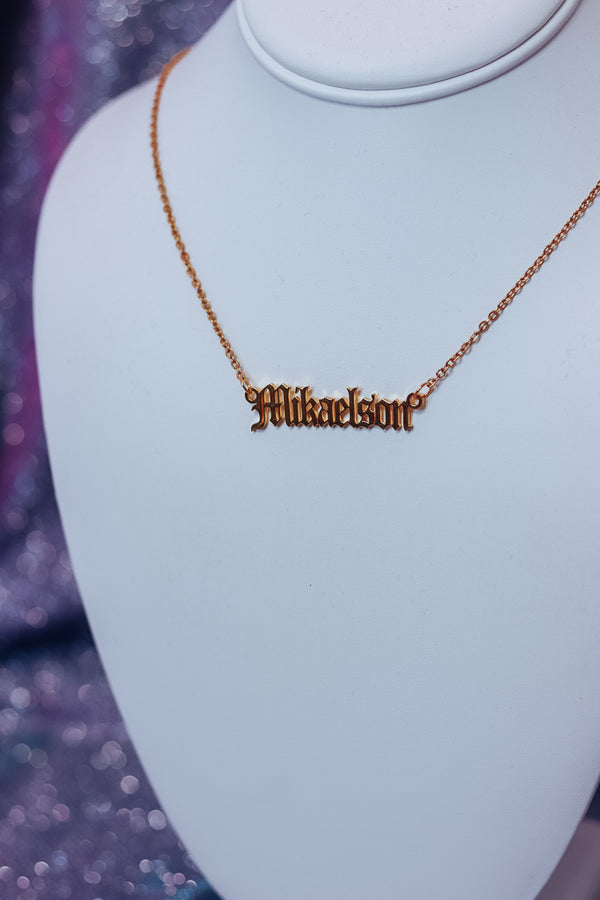 MIKAELSON NECKLACE - Idol Style - affordable boutique