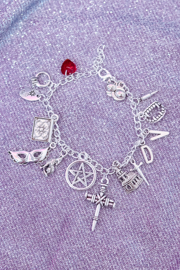 VAMPIRE CHARM BRACELET - Idol Style - affordable boutique