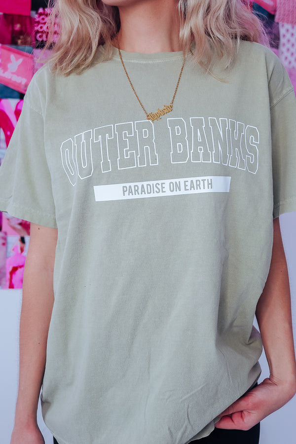OUTERBANKS OVERSIZED TEE - Idol Style - affordable boutique