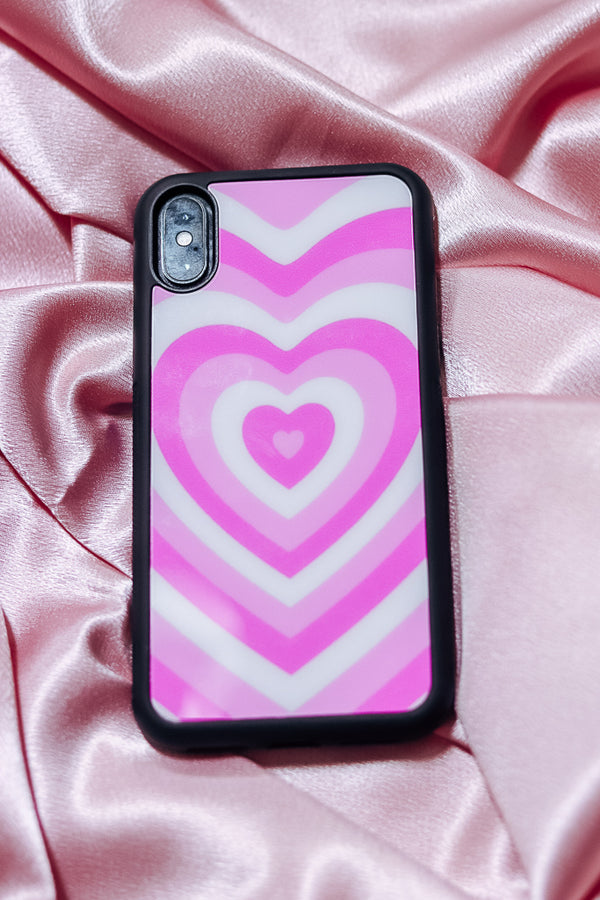 PINK POWERPUFF PHONE CASE - Idol Style - affordable boutique