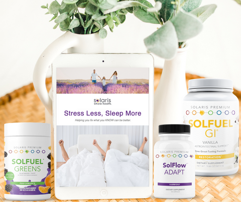 FRIENDS & FAMILY EXCLUSIVE! Stress Less. Sleep More. Program (including comprehensive Roadmap, Meal Plans, Printables,  and Supplements)
