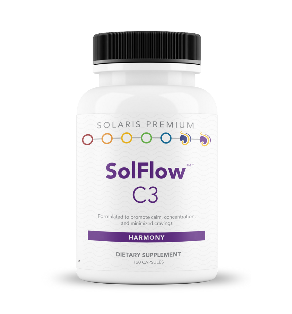 SolFlow C3 (previously SolCalm™ Balance) - 120 vegetarian capsules
