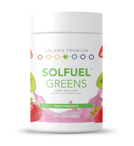 SOLFUEL® Greens - Berry/Kiwi Glow - 10.67 oz