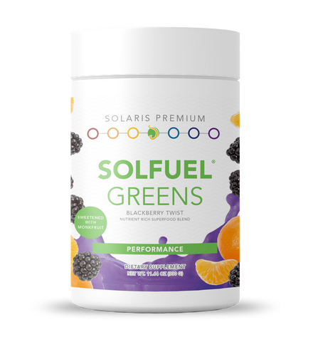 SOLFUEL® Greens - Blackberry Twist - 10.67 oz