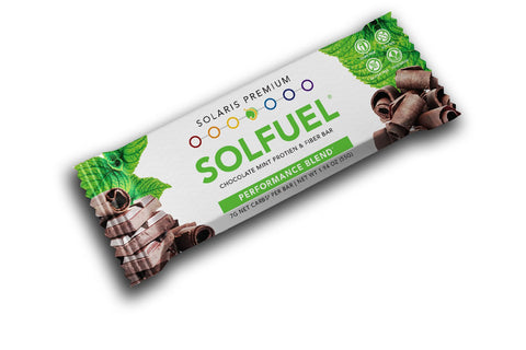 SOLFUEL® - Chocolate Fiber Mint Bar - 18 Bars