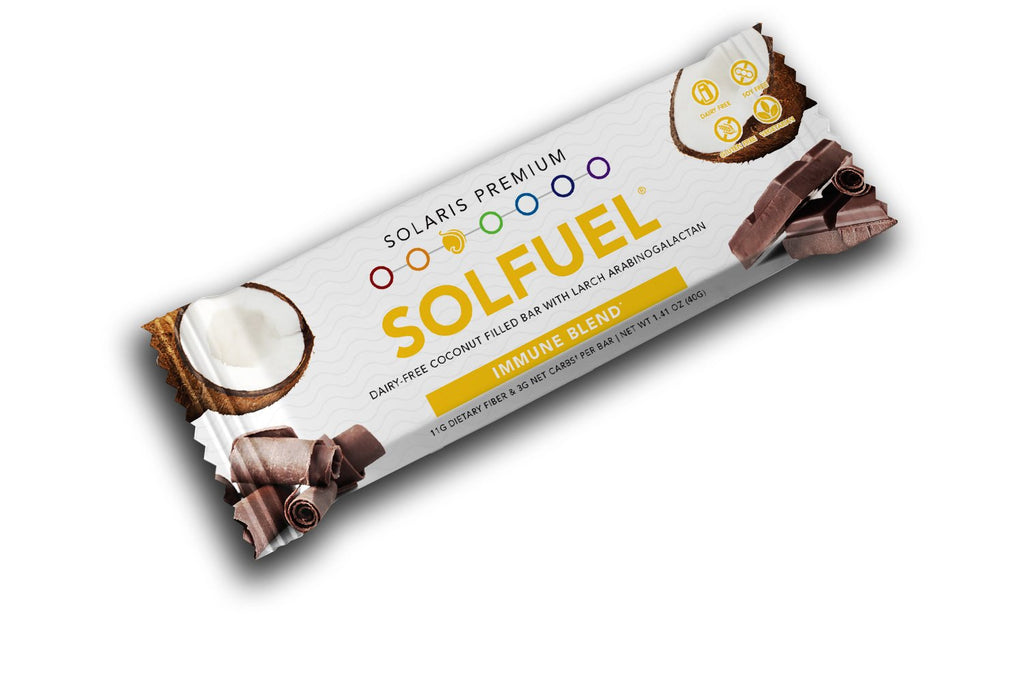 SOLFUEL® - Coconut Filled Bar - 18 Bars