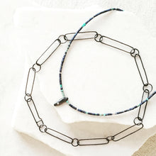 Load image into Gallery viewer, Lapis Choker with Amylum Star