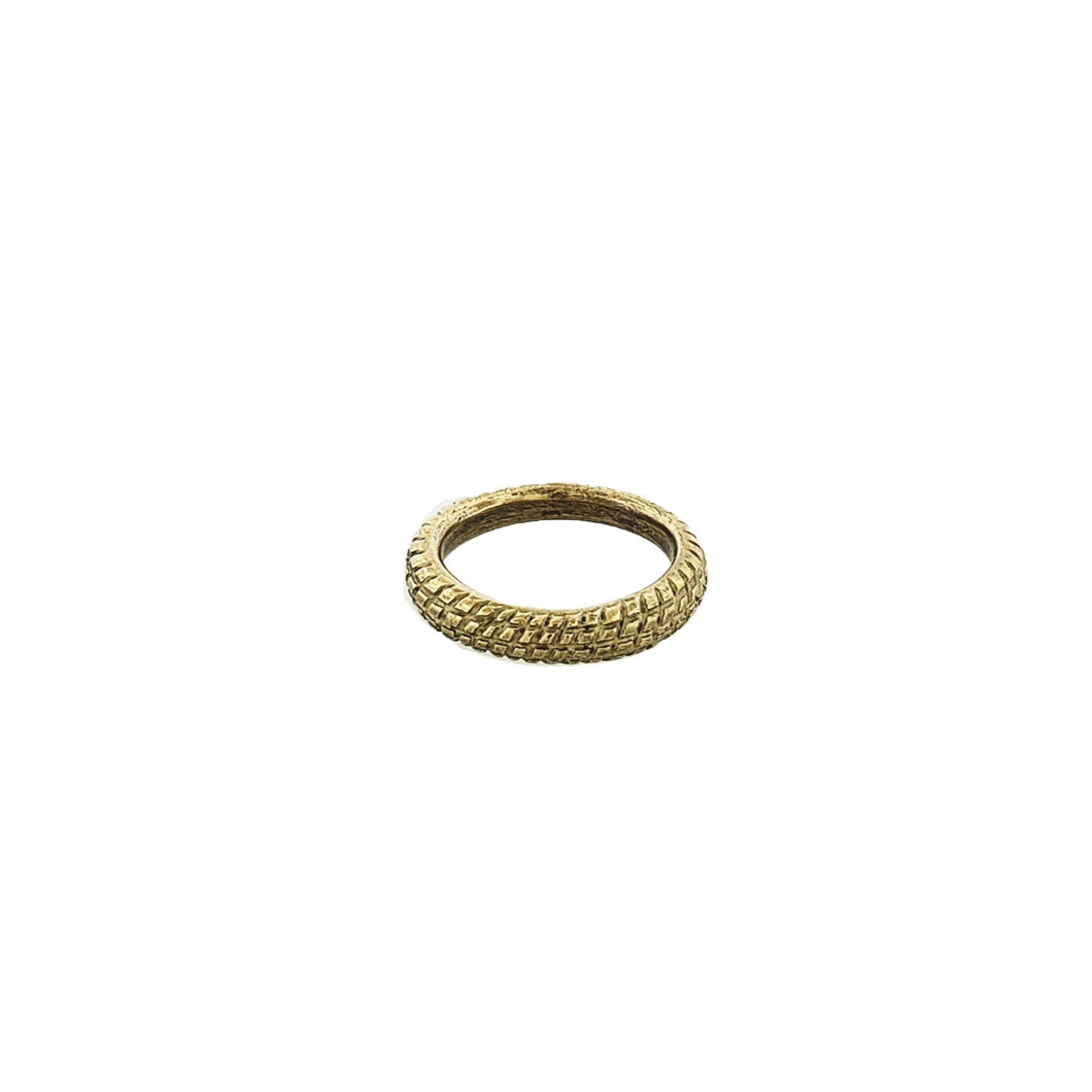 Hand-carved Bronze Ring