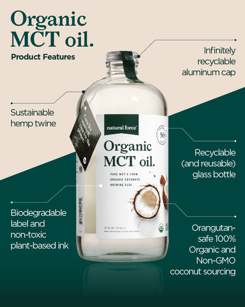 Organic MCT Oil Sustainable Product Features