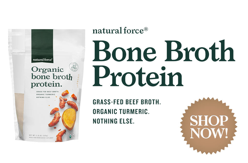 Natural Force Organic Turmeric Bone Broth Protein