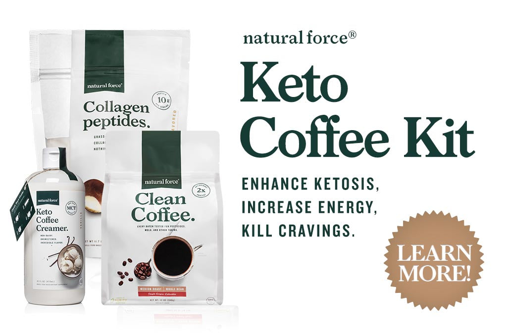 natural force keto coffee kit