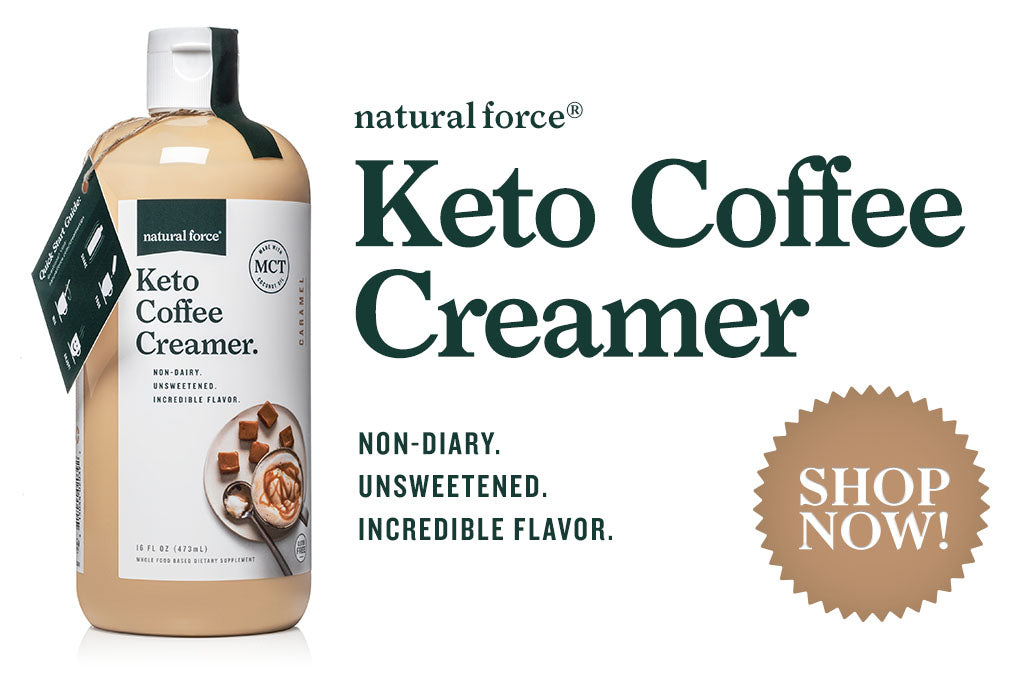 Natural Force Keto Coffee Creamer Shop Now
