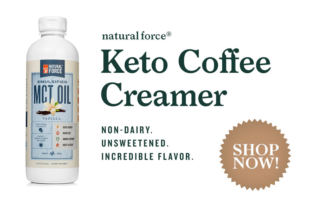 Natural Force Vanilla Keto Coffee Creamer