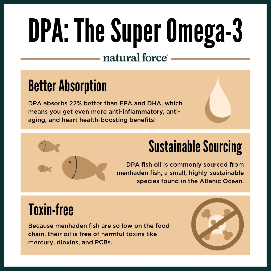 dpa the super omega 3 infographic