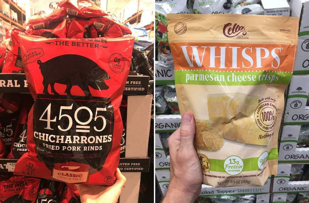 keto foods at costco 4505 chicharrones beside cello whisps