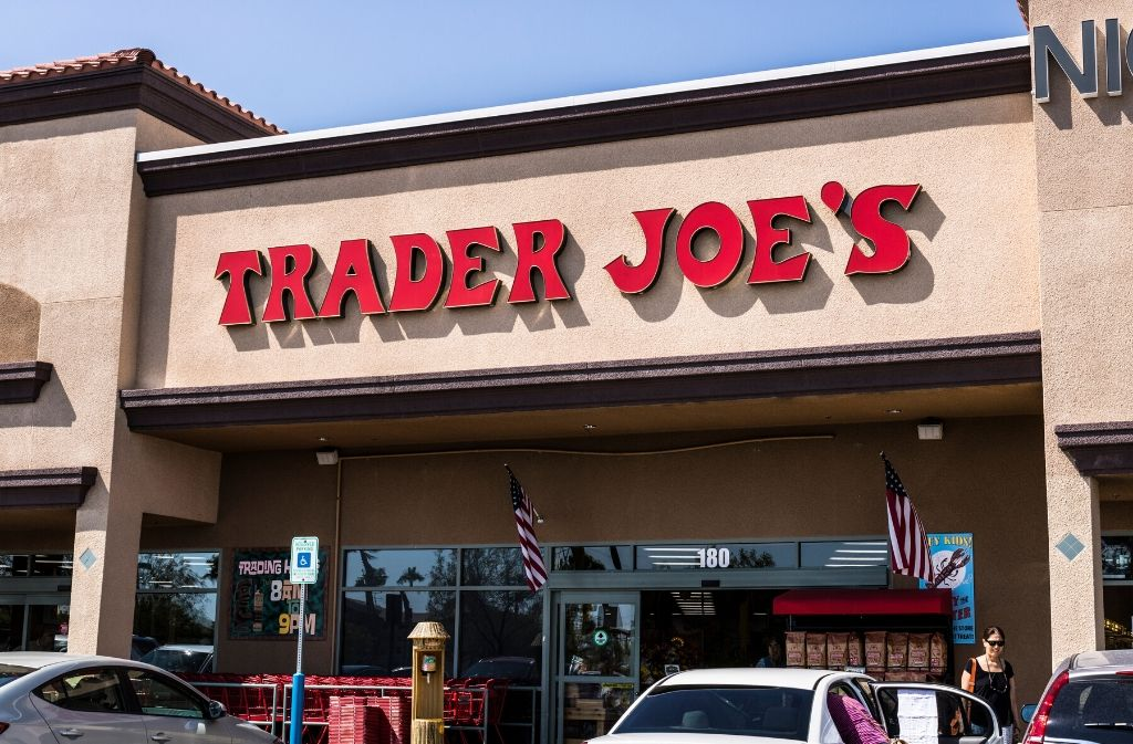 exterior of trader joes