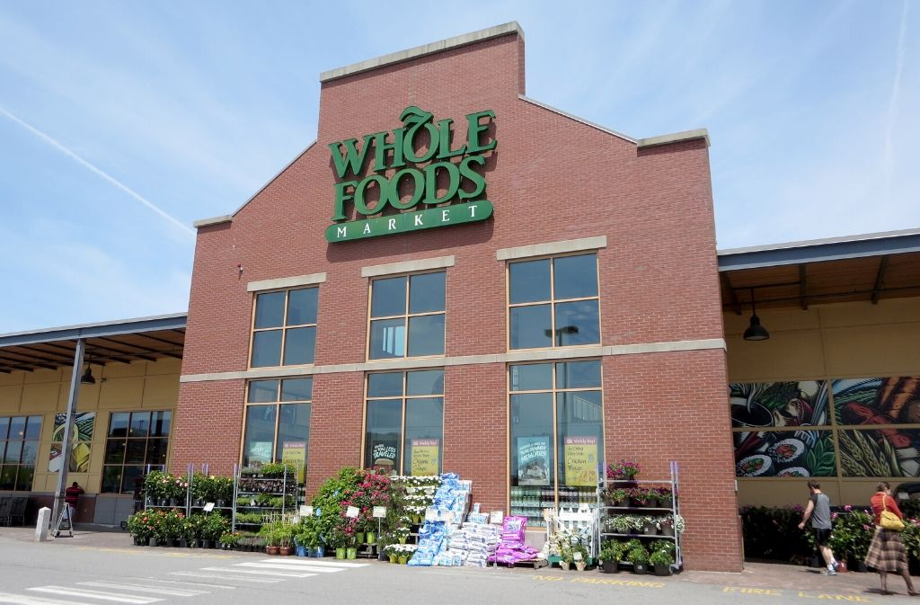 exterior of whole foods market