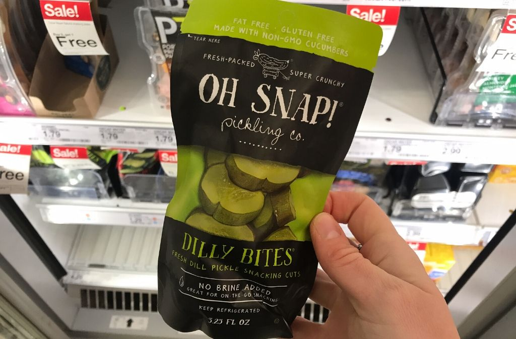 a package of snap pickling co dilly bites