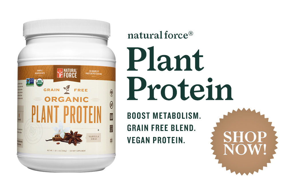 Natural Force Organic Vanilla Chai Plant Protein