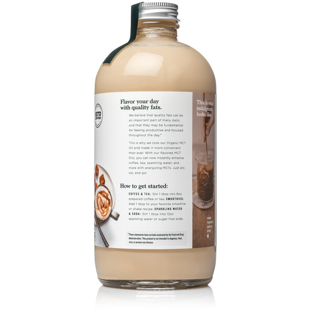 natural force creamy caramel mct oil back