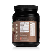 left side of natural force 15 serving chocolate organic whey isolate