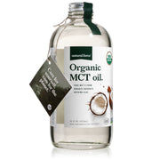 16 ounce natural force organic mct oil bottle front