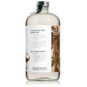 32 ounce natural force organic mct oil bottle side