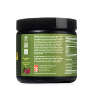 left side of natural force 30 serving original raw tea pre-workout