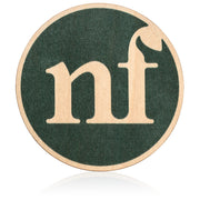 nf wood sticker front