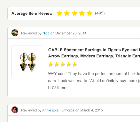 get more etsy reviews