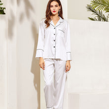 Load image into Gallery viewer, Satin Long PJ Set