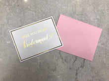 Load image into Gallery viewer, Bridesmaid Proposal Card
