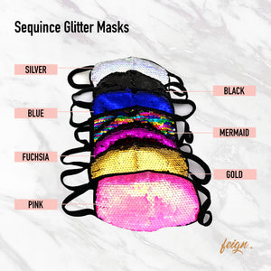 Sequence Glitter Mask