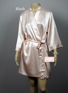 Bridal Robe - Solid Colour